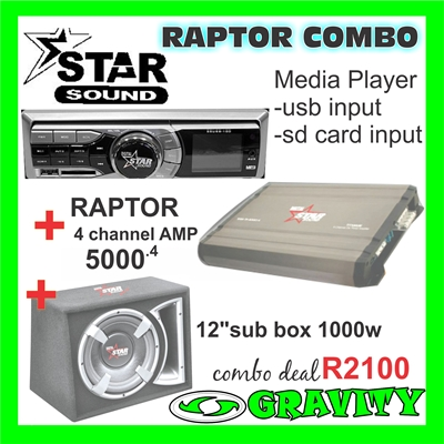 starsound-raptor-combo