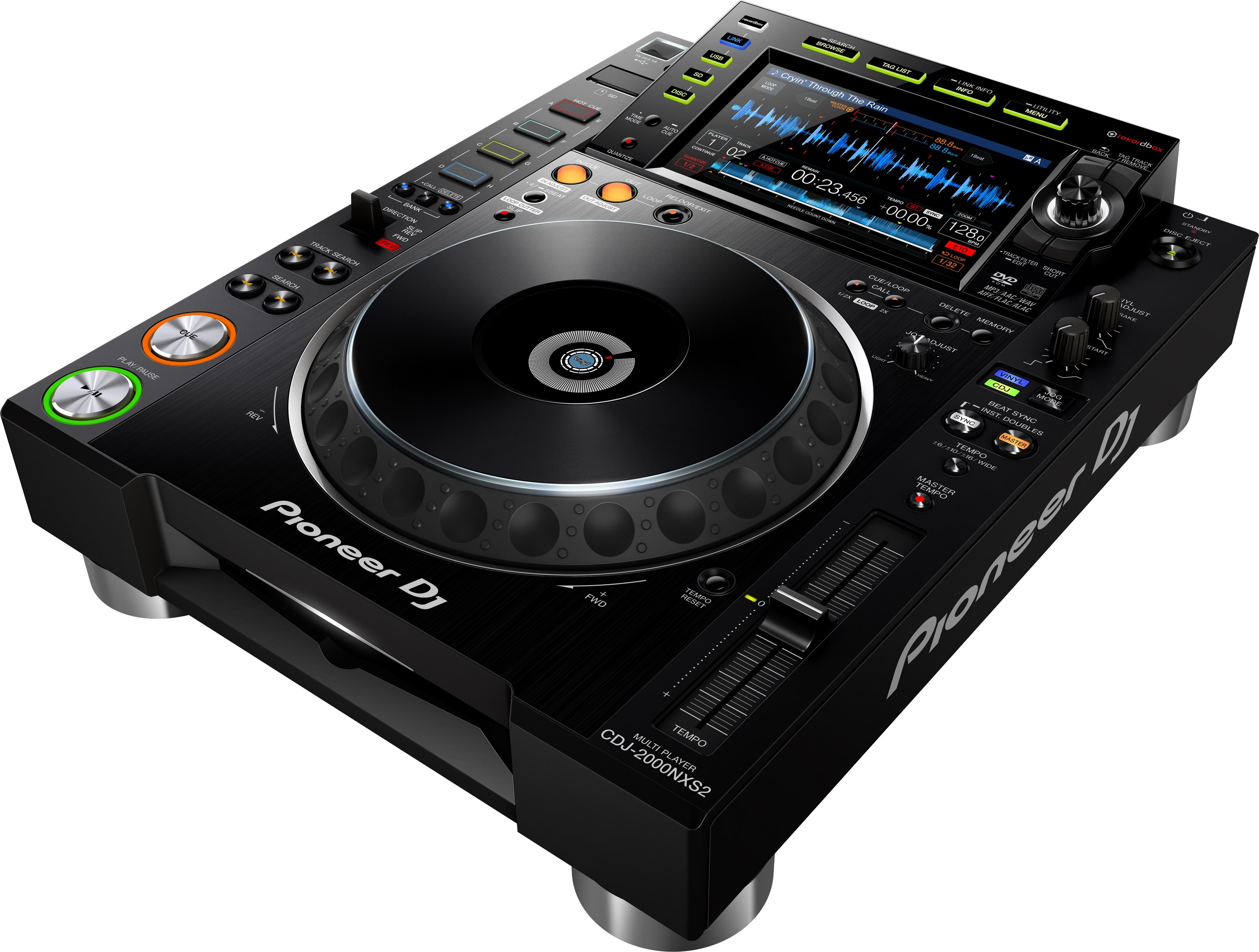 PIONEER CDJ 2000NXS2 JUST LAUNCED TO SOUTH AFRICA ONLY AVAILABLE TO GRAVITY SOUND AND LIGHTING WAREHOUSE DURBAN 0315072463
