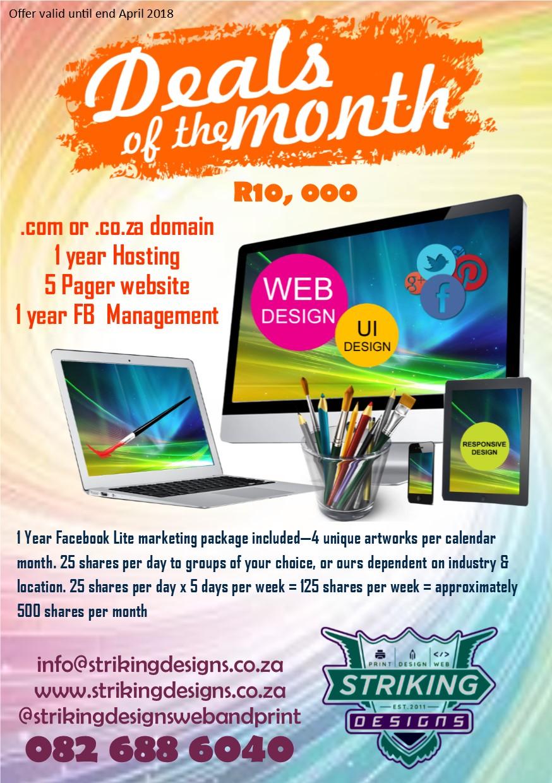 Promotions - Website Design, Website Development, Online