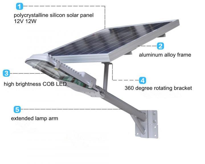 Led Solar Street Light 3 Year Warranty