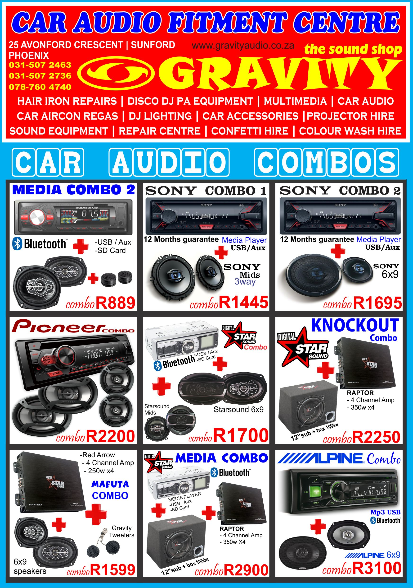 car audio combo , car audio equipment , sony , pioneer ,jvc , kicker , targa , xtc , jbl . starsound  | car audio durban | car audio fitment durban | dj sound durban | disco dj pa equipment durban | disco dj lighting durban | dj mixer durban | dj power amp durban | tv box durban | air mouse durban | behringer durban | gravity sound and lighting warehouse durban | dj smoke achine durban | dj smoke fluid durban | disco dj lighting durban | disco dj led lighting durban | disco dj lazer lighting durban | car amps durban | car decks durban | car bluetooth decks durban | car van double dins durban | car subs durban | starsound grey cones subwoofers durban | Car accessories durban | disco dj party combos durban | J EQUIPMENT | DISCO DJ LIGHTING | DJ/PA COMBO PACKAGES | MULITIMEDIA | MOBILE DISCO-DJ FOR HIRE  SOUND EQUIPMENT HIRE | PROJECTOR AND SCREEN FOR HIRE | ELECTRONIC REPAIR CENTRE  GHD HAIR IRON REPIARS-CLOUD NINE | PUBLIC ADDRESS SYSTEMS | PA DESK MIXERS  SANITIZER FOGGING MACHINES | POWER AMPLIFER | CROSSOVER / EQUALIZER | DISCO / PA SPEAKERS  HOME THEATRE SYSTEMS | SANITIZER SMOKE MACHINE | DJ MIXERS | DJ ACCESSORIES  DJ CD / MP3 PLAYERS / MIDI CONTROLLERS | DISCO BOXES | MICROPHONES | CAR AUDIO | CAR AUDIO FITMENT  SANITIZER THERMAL FOGGER MACHINES | CAR ACCESSORIES | CAR SPEAKERS | CAR AMPLIFIERS | CAR SOUND FITMENT  MARINE AUDIO |DISCO LIGHTING FOR HIRE ,SOUND EQUIPMENT FOR HIRE ,PROJECTOR / SCREEN / STAGE FOR HIRE ,COLOUR WASH HIRE,MOOD LIGHTING HIRE ,INTELLIGENT LIGHTING HIRE , OUTDOOR LANTERN HIRE , DJ SOUND FOR HIRE , CONFETTI HIRE , ROSE PETAL HIRE , SMOKE MACHINE HIRE , UV LIGHITNG HIRE DURBAN , SOUND AND LIGHTING HIRE DURBAN