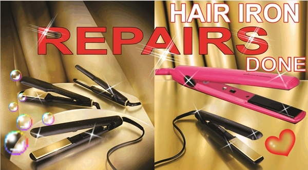CLICK ME  REPAIRS TO ALL MAKES OF FLAT HAIR IRON STRAIGHTNERS IN DURBAN KZN GRAVITY REPAIR CENTRE 0315072463