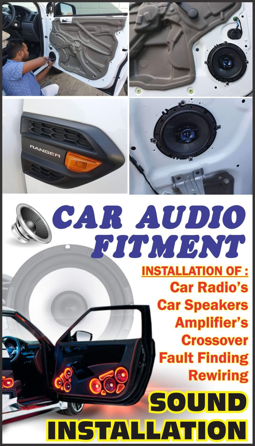 CAR AUDIO SOUND FITMENT CENTRE | ACCREDITED  PROFESSIONAL CERTIFIED APPROVED FITMENT CENTRE DURBAN