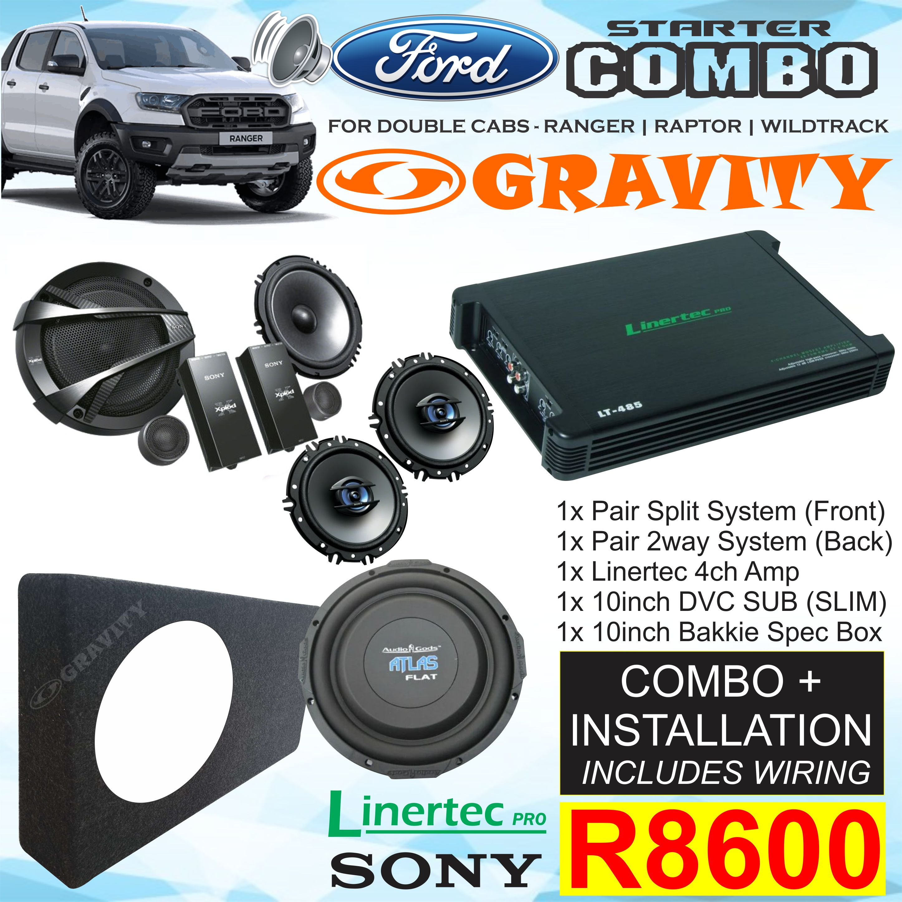 car audio combo , car audio equipment , sony , pioneer ,jvc , kicker , targa , xtc , jbl . starsound