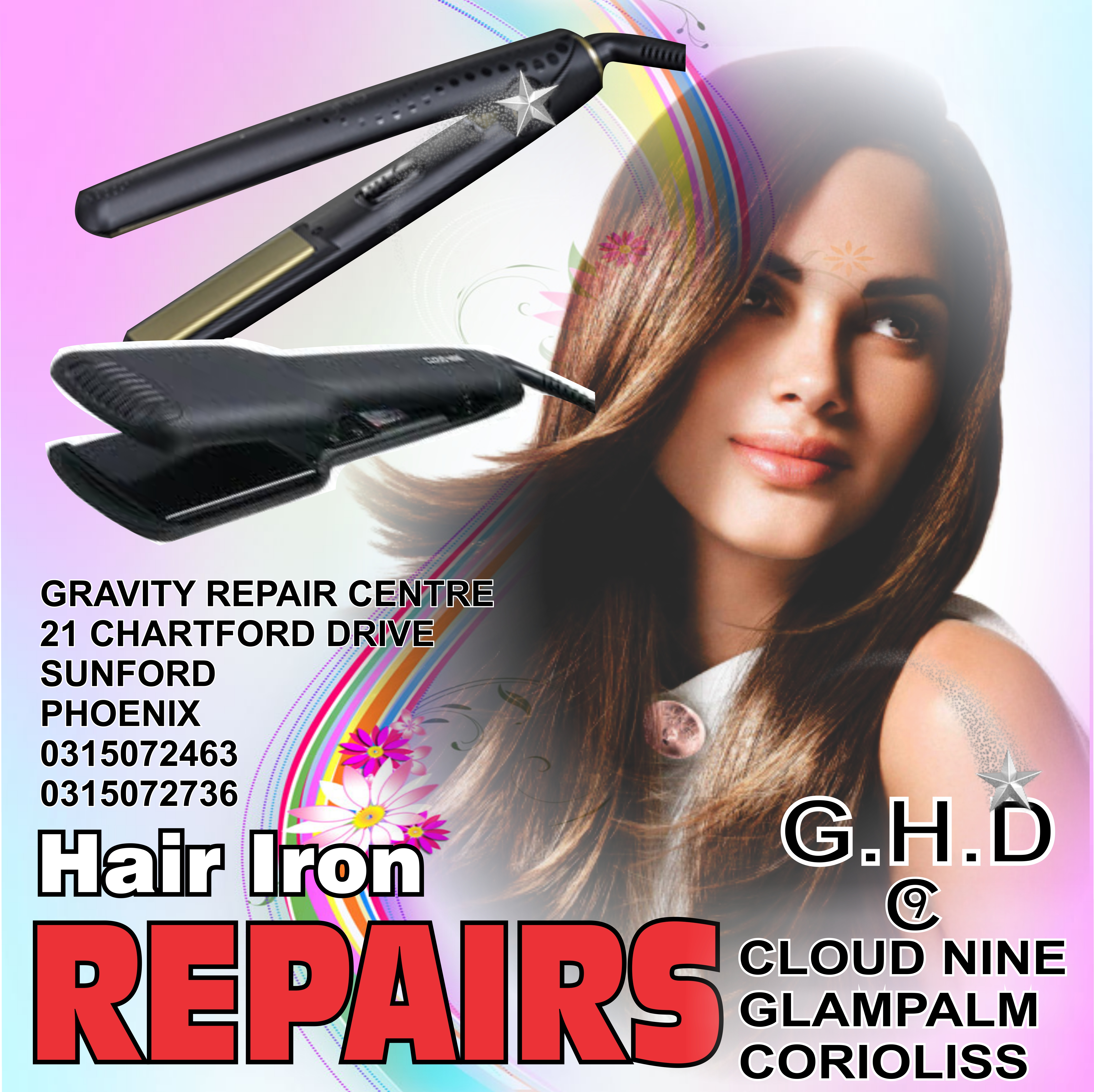 ir iron repairs professionally done at GRAVITY audio phoenix durban. The only service provider in durban dedicated to the repairing & servicing of broken & damaged ghd hair irons. Gravity repair centre for all ghd hair irons durban kzn   ghd iron repair centre, situated in phoenix Durban, GRAVITY AUDIO tel 0315072463 Replacement circuit boards for ghd hair irons available at Gravity audio phoenix Durban.  ghd hair iron repairs CLOUD 9 HAIR IRON REPAIRS  ghd hair iron repairs @ gravity repair store durban phoenix gravity audio 0315072463  cloud 9 hair iron repairs store  cloud nine hair irons repairs durban  cloud nine hair iron repairs @gravity repair shop phoenix durban gravity audio  ghd repairs cloud 9 hair iron repairs