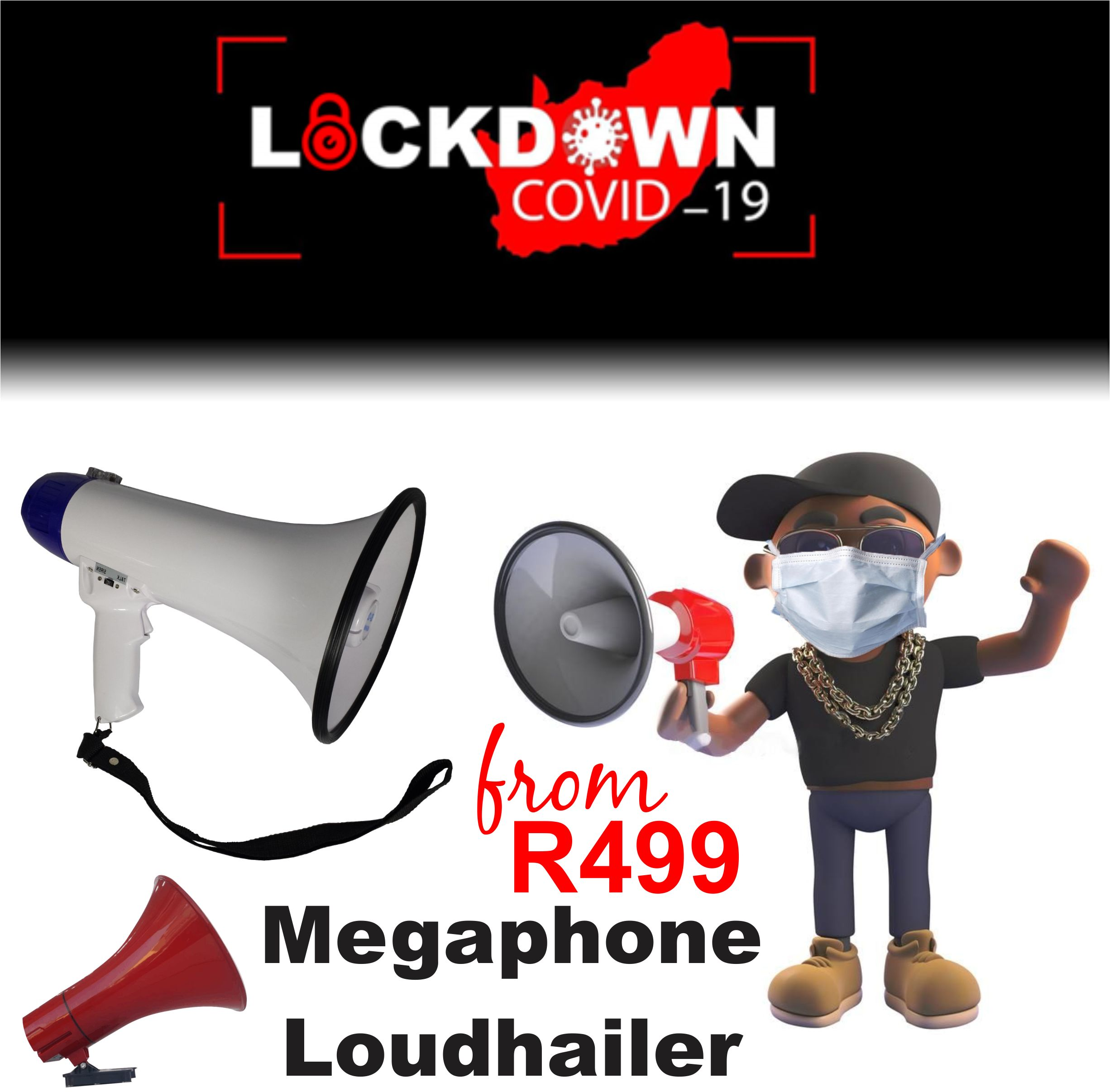 PA OUTDOOR HORNS PA MEGAPHONES LOUDHAILER DURBAN PUBLIC ADDRESS MEGAPHONE LOUDHAILERS PA PAGING  BROADCASTING SYSTEMS DURBAN 12v PA VECHILE HORNS
