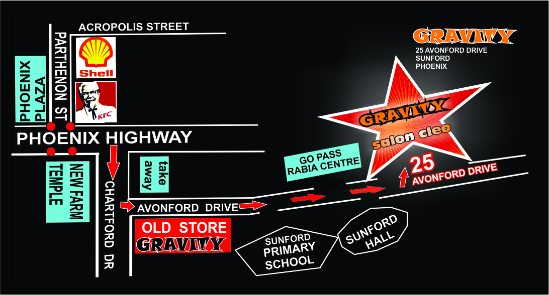 FIND US ON GOOGLE MAPS GRAVITY AUDIO SOUND STORE 0315072736