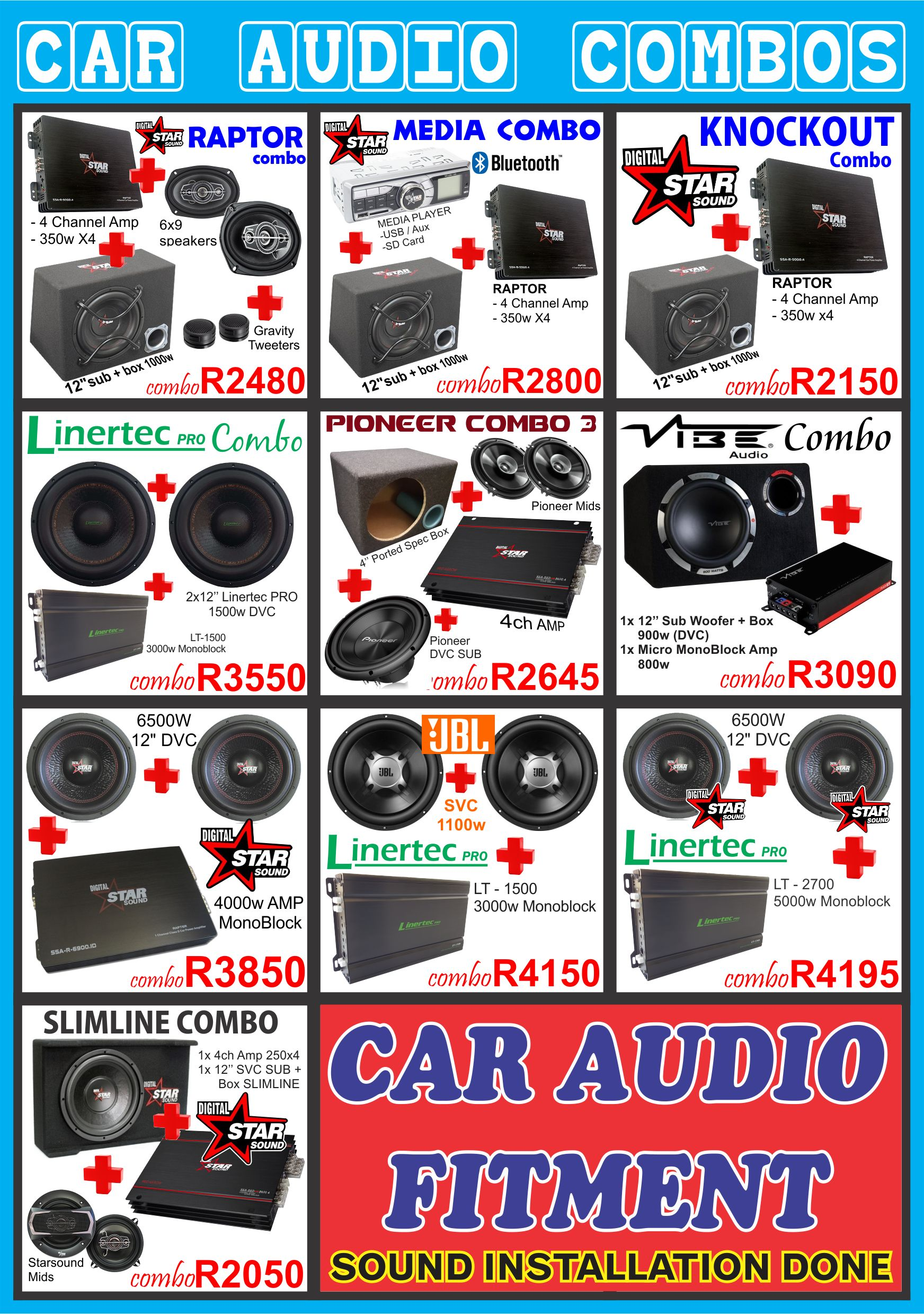 car audio installation durban , car radio install durban , linertec , starsound , durban