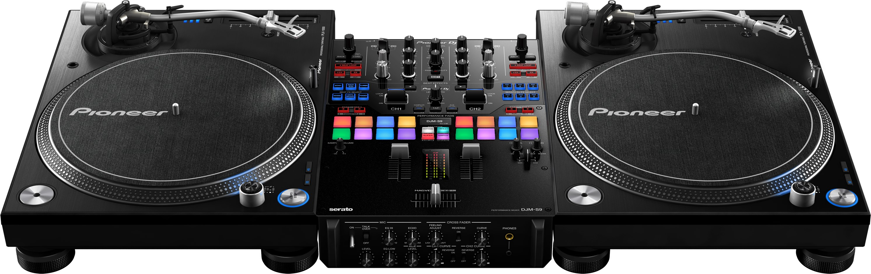 GRAVITY PIONEER DJ STORE DURBAN SOUTH AFRICA PIONEER DJMS9 MIXER EFFECTS CONTROLLER 0315072463