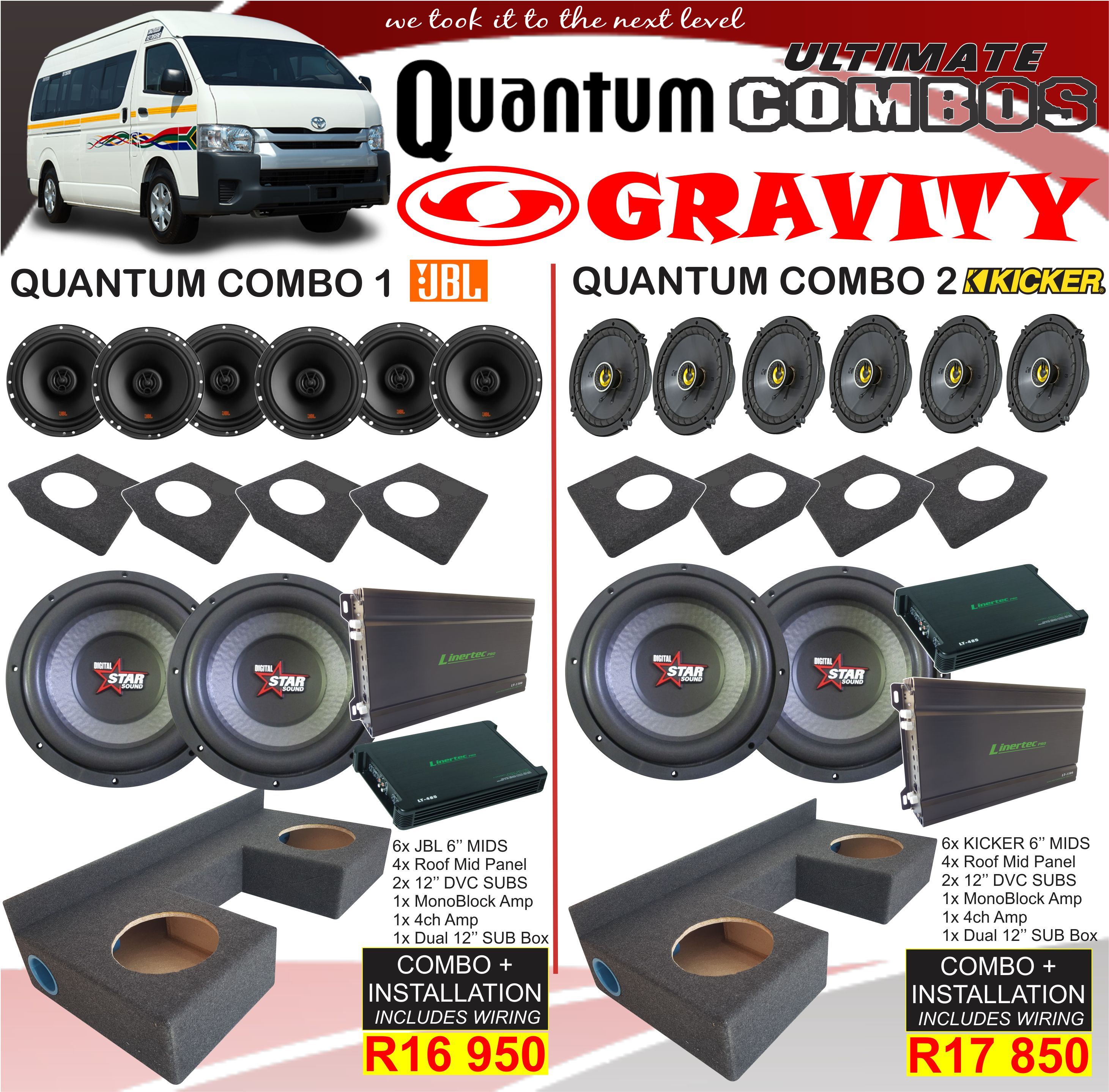 CAR AUDIO SOUND INSTALLATION , TAXI HIACE QUANTUM COMBOS, TAXI SOUND INSTALLATION , car audio combo , car audio equipment , sony , pioneer ,jvc , kicker , targa , xtc , jbl . starsound , focal , one nav , ford ranger combo , toyota hilux combos , double cab combos , TOTYATA TAXI COMBOS ,